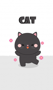 Cute Cute Black Cat Theme (jp) 画像(1)