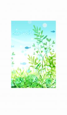緑溢れる海の世界#fresh 画像(1)