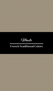 Mastic -French Trad Colors-