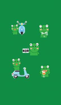 Simple Cute frog theme v.3 (JP) 画像(1)