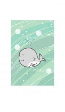 Summer kids whale #fresh 画像(1)
