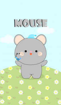 Love Cute Gray Mouse (jp) 画像(1)