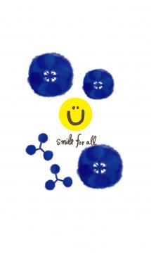 深い青色-スマイル12- 画像(1)