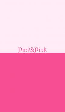 ピンク&ピンク No.1-2 画像(1)