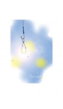 Sun catcher collecting happiness #fresh