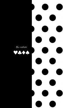 バイカラー -Black- #pop