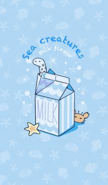 うみのいきもの〜milk flavor〜 #pop
