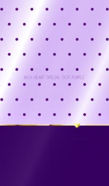 RICH HEART SPECIAL DOT PURPLE