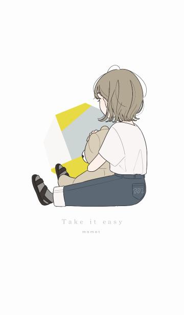 女の子とテディベアの画像(表紙)
