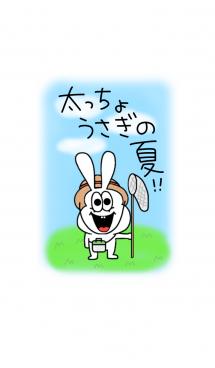 太っちょうさぎの夏♡ #pop 画像(1)