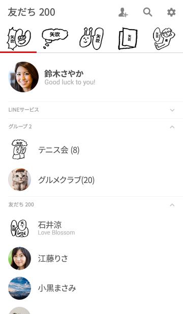 矢吹さん専用着せかえ by おつかれ様の画像(友だちリスト)