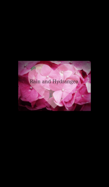 ~Rain and Hydrangea~ 3 #fresh 画像(1)