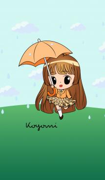Koyomi - Little Rainy Girl 画像(1)