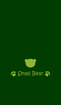 Small Bear *GreenTea* 画像(1)
