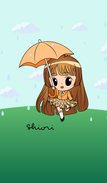 Shiori - Little Rainy Girlの画像(表紙)