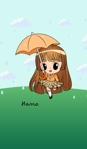 Hana - Little Rainy Girlの画像(表紙)