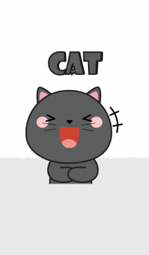 So Cute Black Cat Theme (jp) 画像(1)