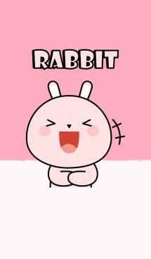 So Cute Pink Rabbit Theme (jp) 画像(1)
