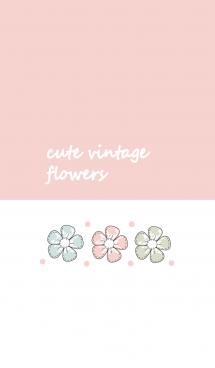 Cute vintage flower 17