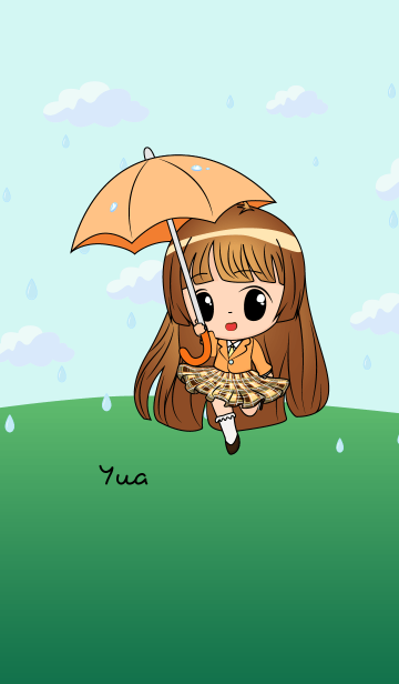 Yua - Little Rainy Girlの画像(表紙)