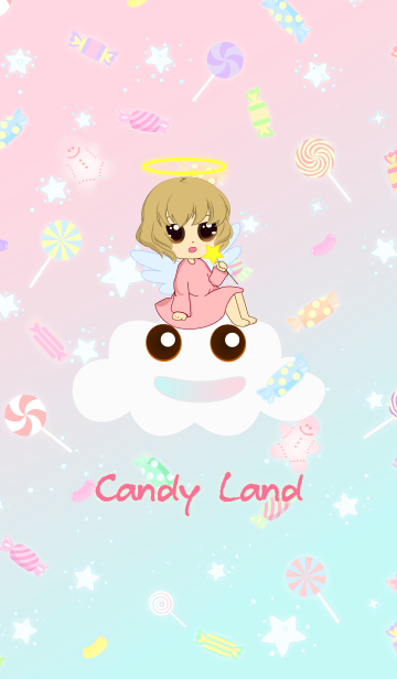 Candy land and Little angelの画像(表紙)