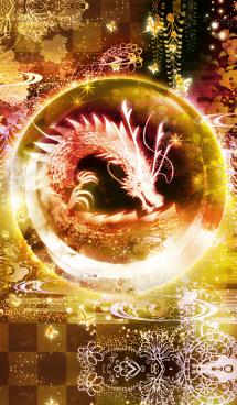 黄金色に輝く龍の風水で運気向上! 画像(1)