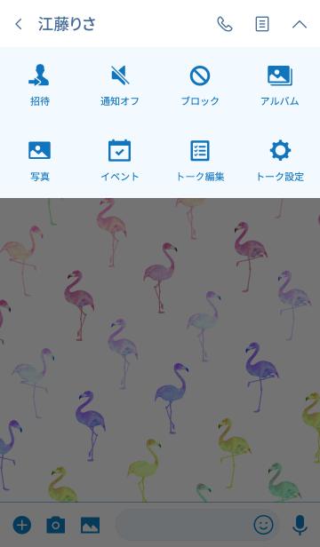 カラフル サマー フラミンゴの画像(タイムライン)