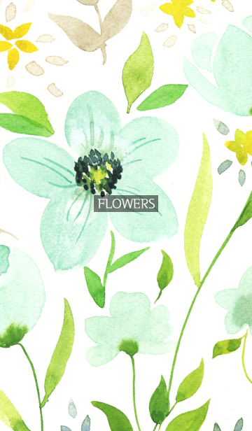 water color flowers_1012の画像(表紙)