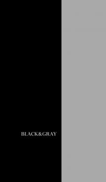 シンプル グレーと黒 ロゴ無し No.4-3 画像(1)
