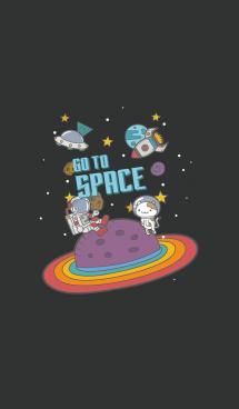 Go To Space JP #black 画像(1)