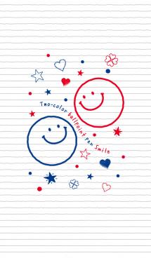 2色ボールペン★スマイル 画像(1)