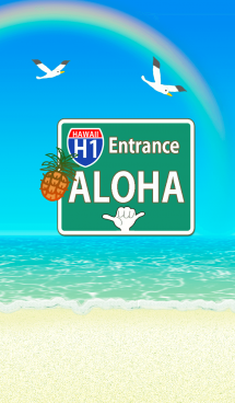 ハワイ*アロハサイン*ALOHA+72 画像(1)