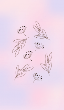 Cute leaves theme 2