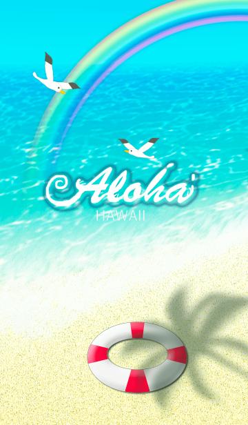 [LINE着せかえ] ハワイ*ALOHA+73の画像