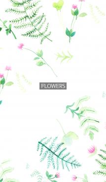 water color flowers_1062 画像(1)