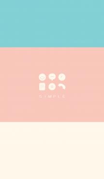 シンプル(pink green)V.314