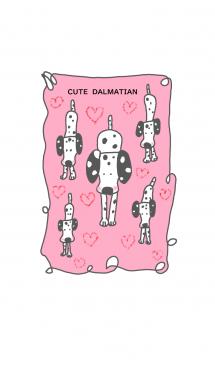 ゆるゆる*かわいい*ダルメシアン