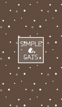 SIMPLE CATS【brown】