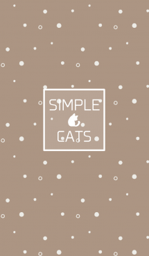 SIMPLE CATS【beige】