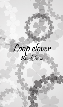 Loop clover -Black base-