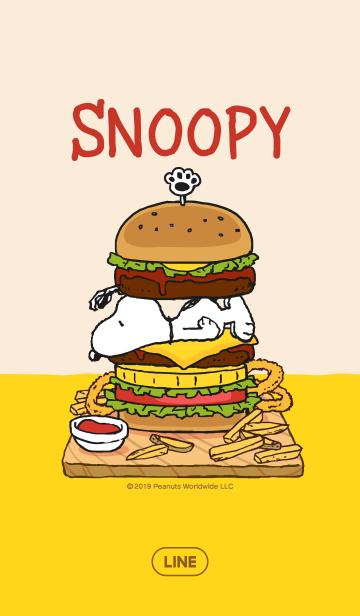 スヌーピー☆ハンバーガーの画像(表紙)
