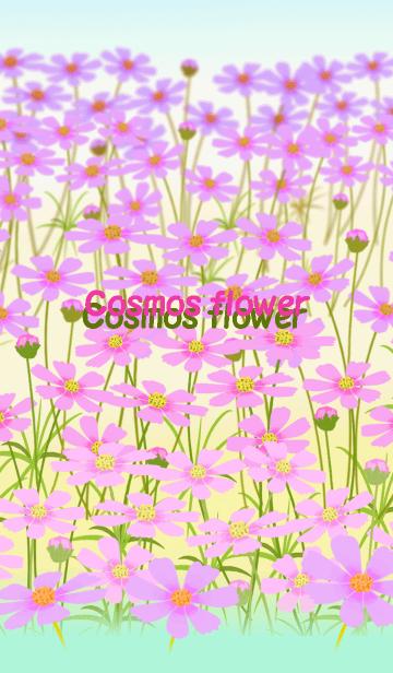 [LINE着せかえ] *コスモスの花*の画像