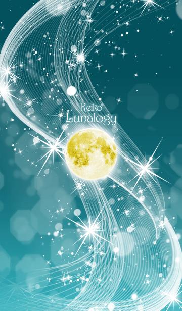 [LINE着せかえ] 魚座満月【2019】Keiko的ルナロジーの画像