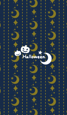Night moon and stars @Halloween2019