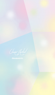 Pastel and clear -ad
