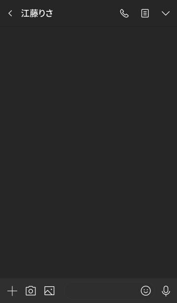 MAT BLACK -SIMPLE-の画像(トーク画面)