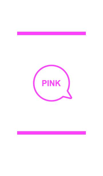シンプル ホワイト&ピンク No.4の画像(表紙)