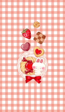 Bunny and Berry Cookies 画像(1)