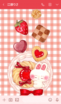 Bunny and Berry Cookies 画像(3)