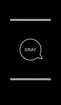 シンプル ブラック&グレー No.4